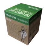 Woodson hout firestarter verpakking