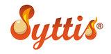 Syttis Finse vuuraanmaak bollen logo