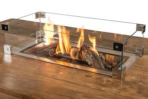 Glazen ombouw Happy Cocooning Table inbouwbrander rechthoek