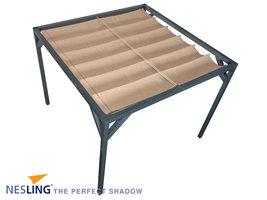 Nesling Coolfit Harmonica Schaduwdoek 2,9 x 4 m