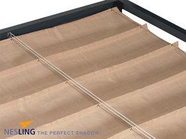 Nesling Coolfit Harmonica Schaduwdoek 3,7 x 5 m