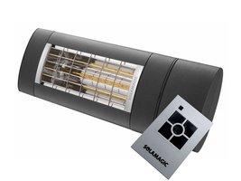 Solamagic S1 aanbieding 2KW, dimmer en afstandsbediening.