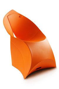 Flux chair bright orange FCH0005