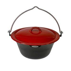 Bonfire pan incl. deksel 8l