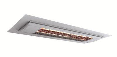 Solamagic plafond inbouwframe titanium terrasverwarming